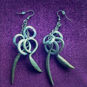 All saints drop earrings